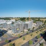 Luftbild Ecke Groß-Berliner-Damm/Konrad-Zuse-Straße