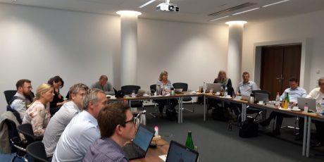 Treffen der AG-Leitungen in Frankfurt