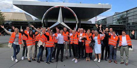 Partnertreffen bei Daimler