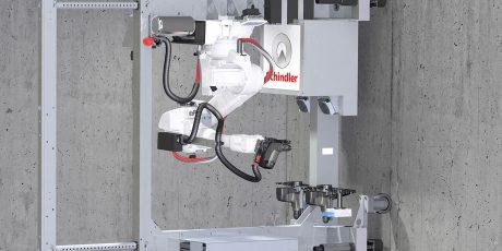 Schindler: Robotersystem für die Installation von Aufzügen