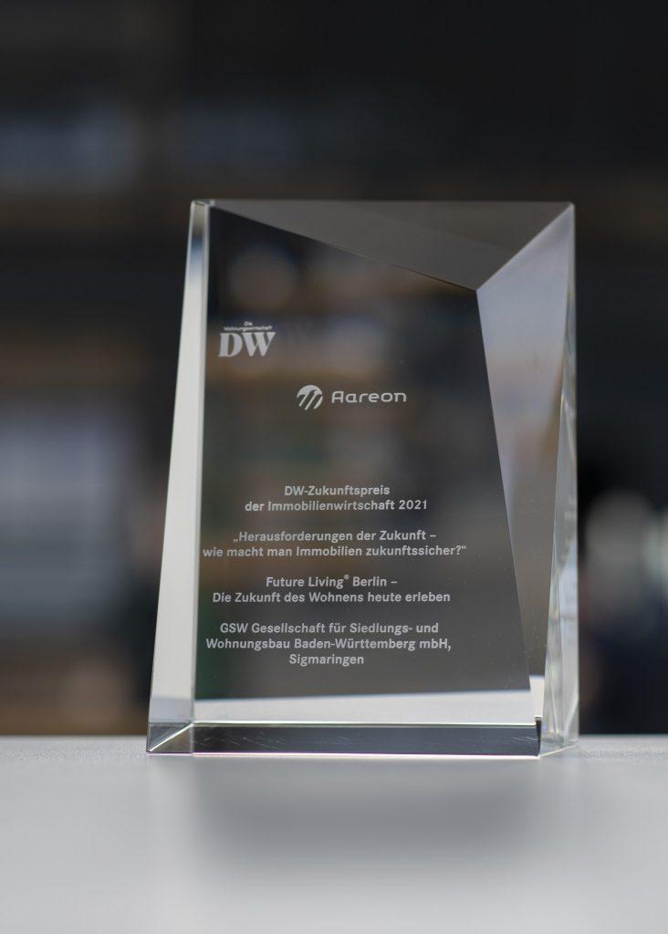 Aareon – Aareon Live 2021 – Verlehung DW Zukunftspreis 2021_03