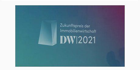 Zukunftspreis der Immobilienwirtschaft 2021 für Future Living® Berlin